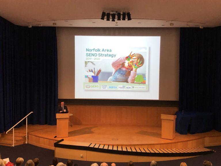 Norfolk Governance Network Autumn Conference 2019 Norfolk Area Send Strategy