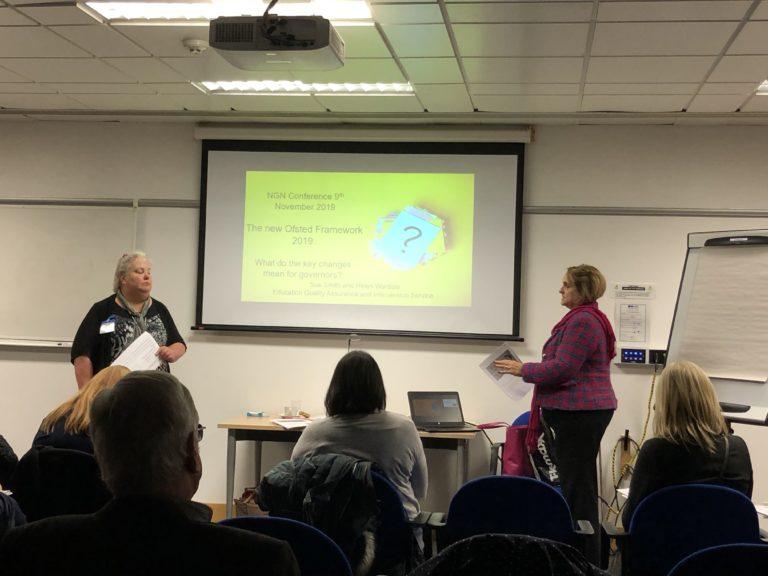 Norfolk Governance Network Autumn Conference 2019 Ofsted Workshop