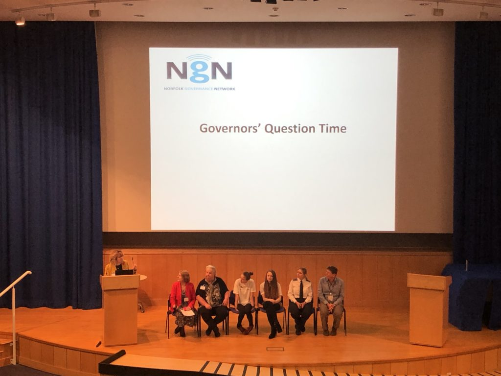 Norfolk Governance Network Autumn Conference 2019 - Question time